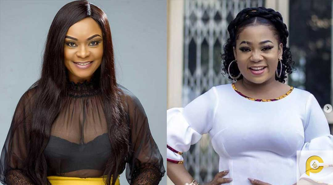 Vicky Zugah and Bervelyn Afaglo - Vicky Zugah and Beverly Afaglo descend on instagram user who called them D-List actresses
