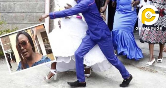 Angry wife storms Anglican church with machomen to destroy her husband's secret wedding