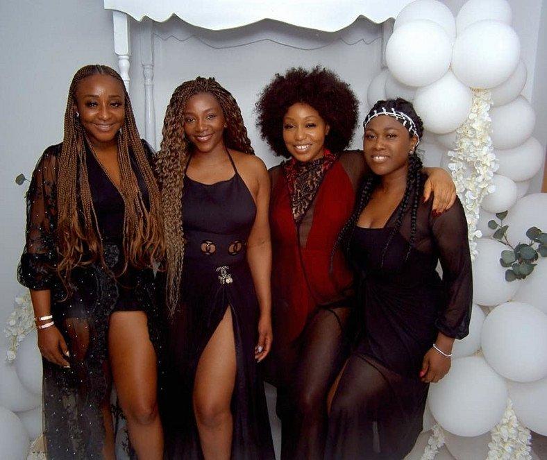 Ini Edo, Genevieve, Rita Dominic & Uche Jumbo