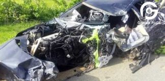 Photos: Four government officials involved in an accident and in severe conditions