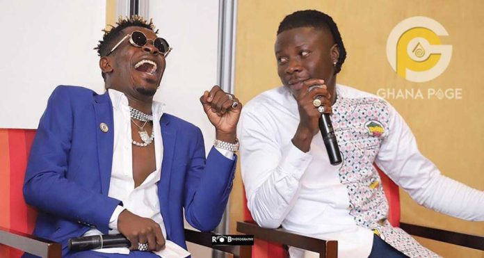 Shatta Wale and Stonebwoy released their first song together titled