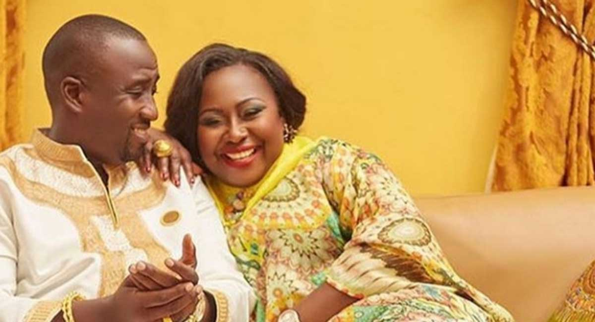 Oheneyere Gifty Anti pens down touching message to husband to celebrate 4th wedding anniversary