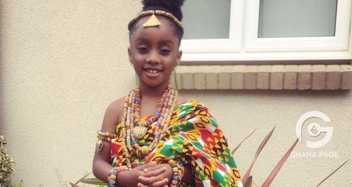 Asamoah Gyan's daughter celebrates birthday with beautiful photos