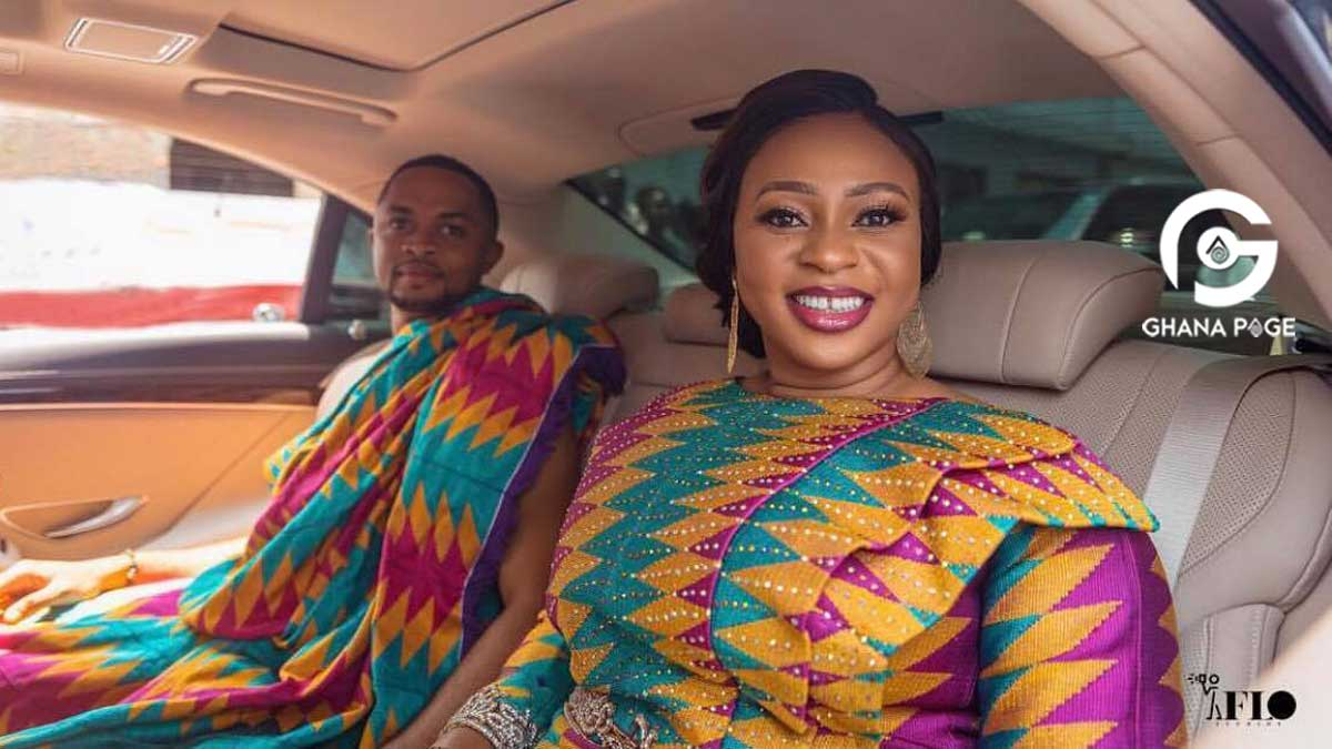 Adwoa Safo speaks for the first time after wedding-releases official photos