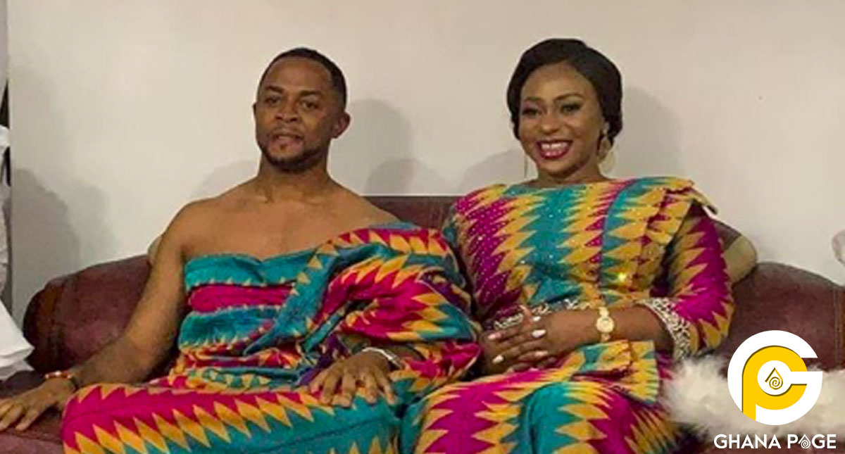 See the romantic dance of newly wedded Adwoa Safo and husband