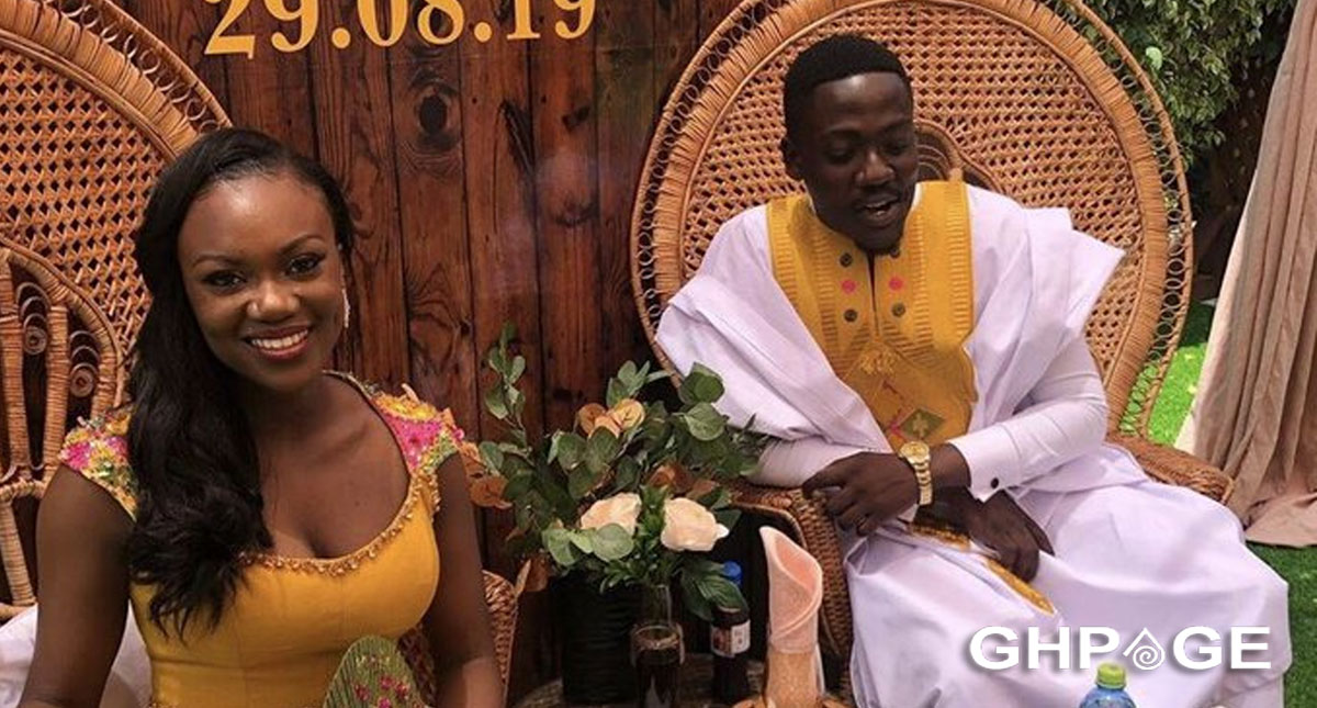 Beautiful photos drop as Bishop Agyinasare's daughter, Charlene ties the knot