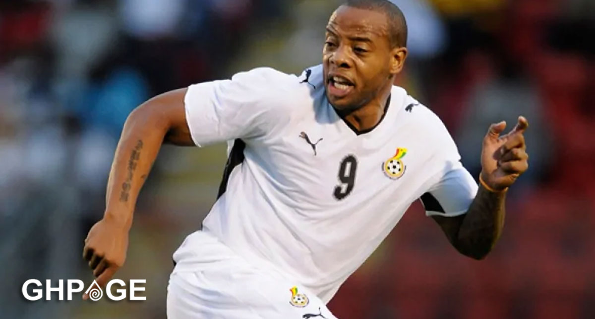 Ex-Ghana striker Junior Agogo is dead