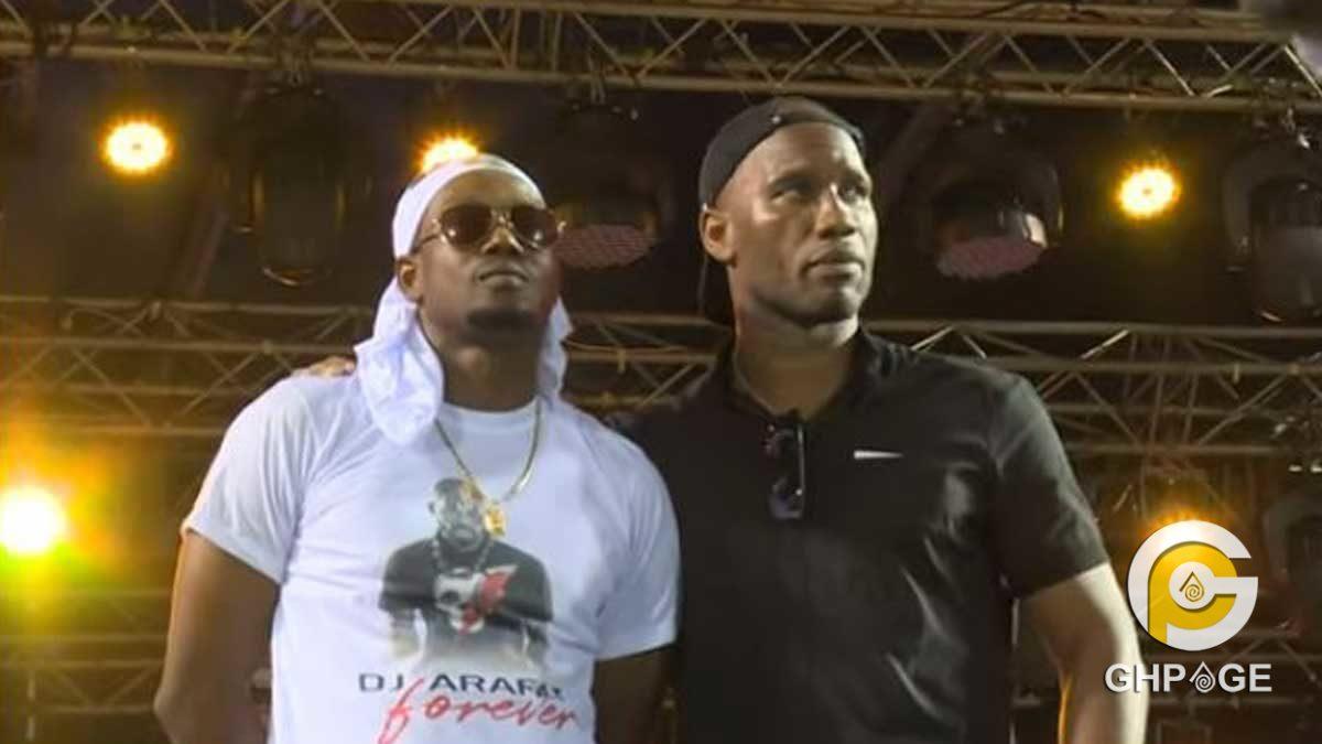 Tribute to DJ Arafat: Tears of Didier Drogba, Davido, Kader Keita