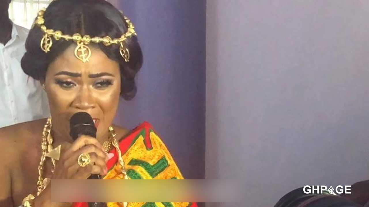 Nayas weeps on her wedding day