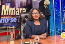 Afia Pokuaa aka Vim Lady finally leaves Adom TV-Hosts her first show at UTV [Video, Photos]