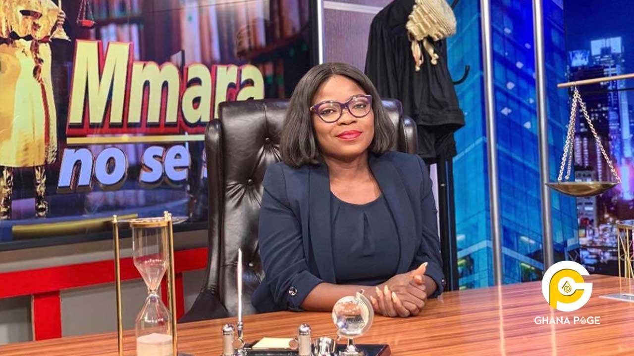 Afia Pokuaa finally leaves Adom TV-Hosts her first show at UTV