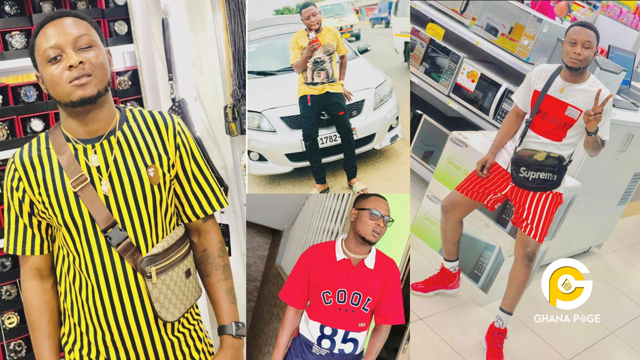 Rich Ghanaian boy, Big Doe accused of sacrificing his eye for Sakawa