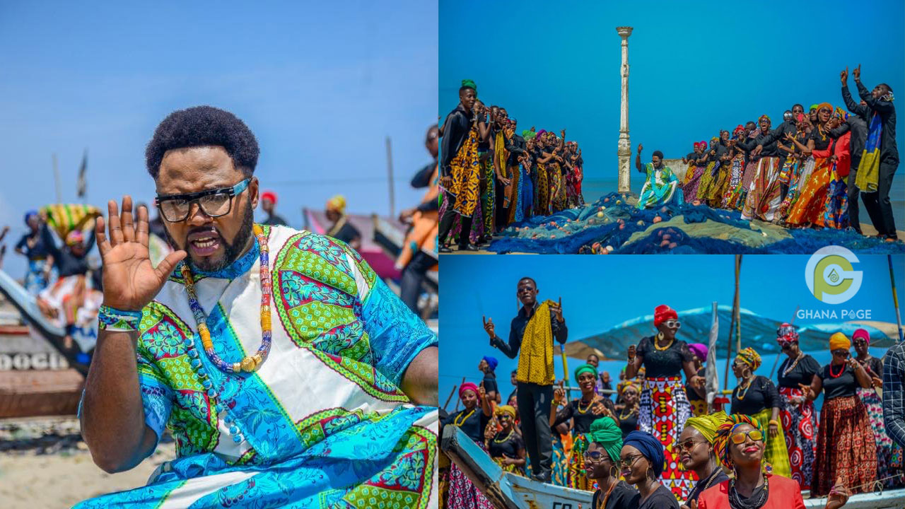 Clarion Clarkewoode releases the most colourful music video of African origin
