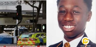 15-year-old Ghanaian footballer, Baptista Adjei stabbed to death in the UK [Photos]