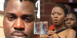 Man caught nakked attempting to sleep with best friend's wife-Disgraced online [Photos]