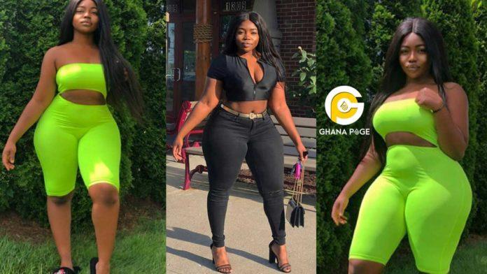 Popular Ghanaian Instagram Slay Queen, Naa Dromor poisoned to death by boyfriend [Photos]