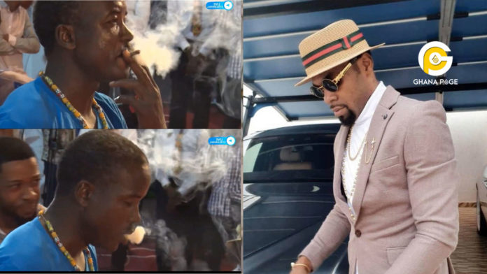 Obofour speaks after he was 'arrested' by police for allowing a man to smoke 'wee' in his church