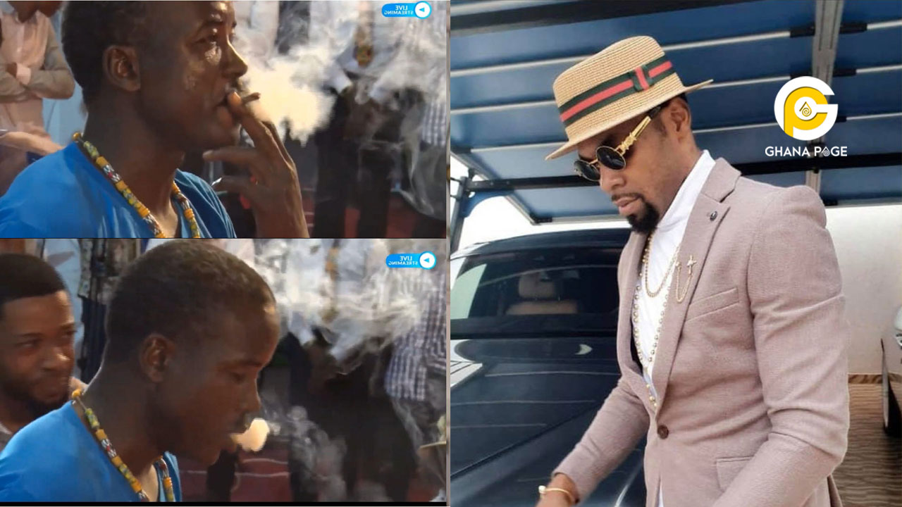 """""""I was in the spiritual realm when I ordered him to smoke the weed""""-Rev. Obofour tells police"""