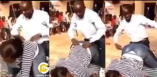 A video of a pastor demonstrating to his church members how best to give doggy style goes viral