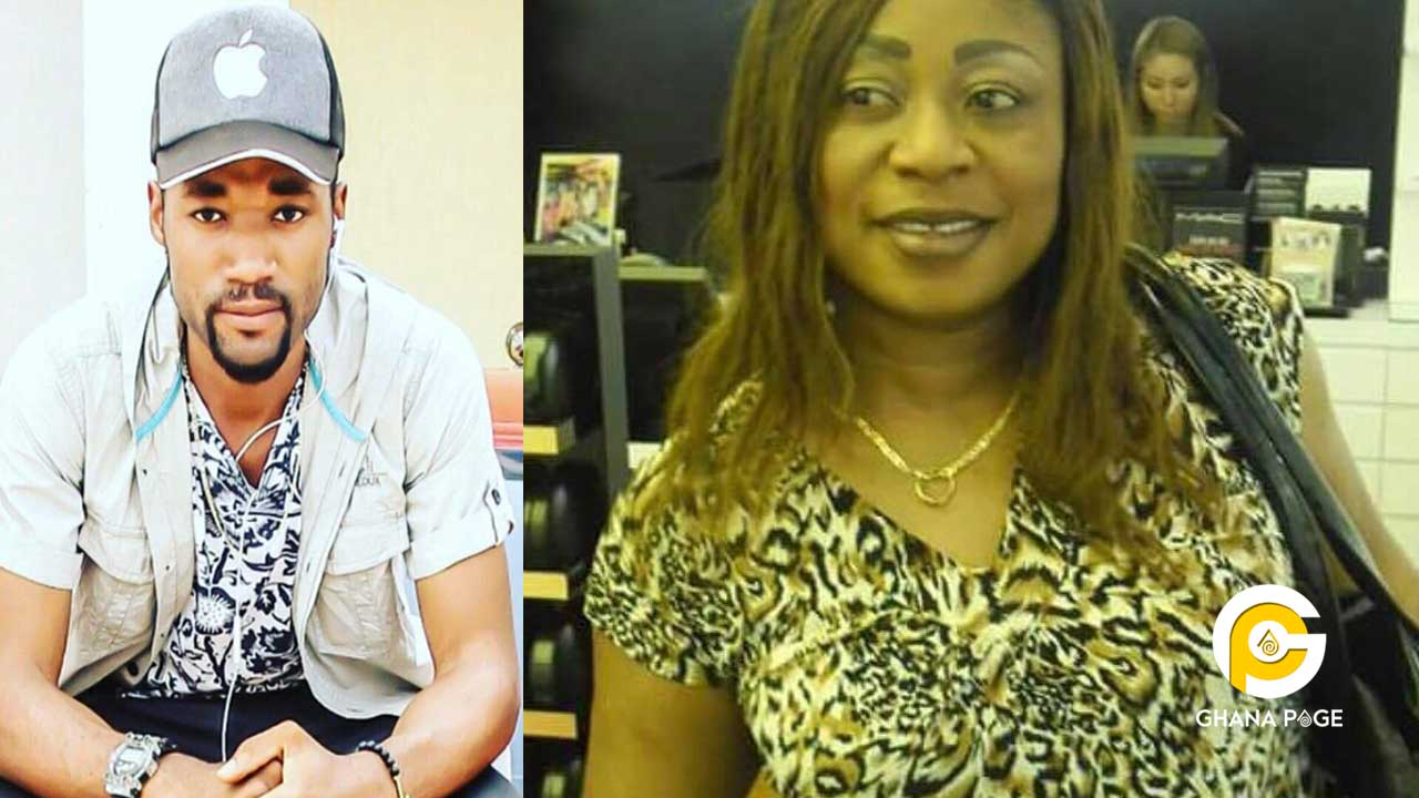 Kumawood actor beats his mum-Calls her a witch in public