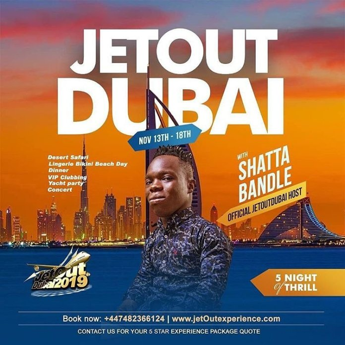 Shatta Bandle and bouncer set to host a show in Dubai 2