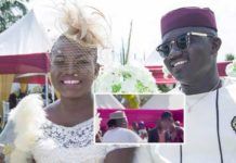 Stonebwoy's sister's wedding