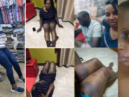 Angry man beats, strips wife naked & dumps her on the street for sleeping with men in her shop
