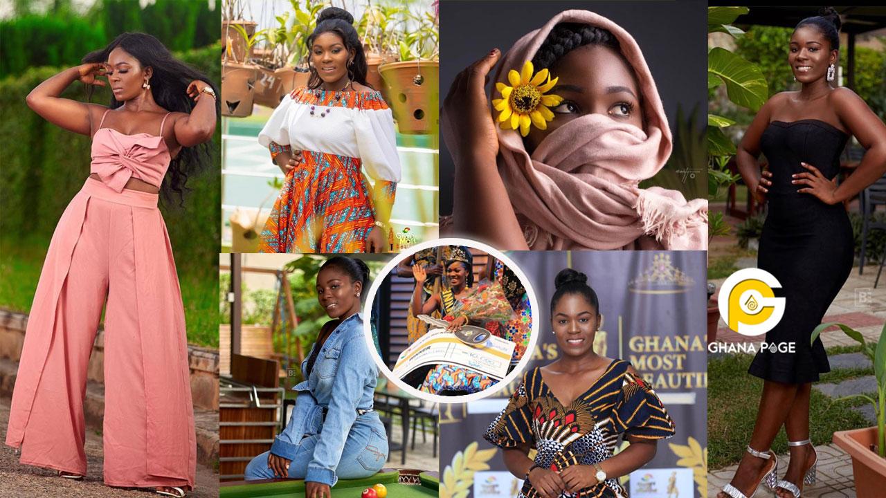 15 Stunning photos of Ekua Mends Bannerman, the winner of Ghana's most Beautiful 2019