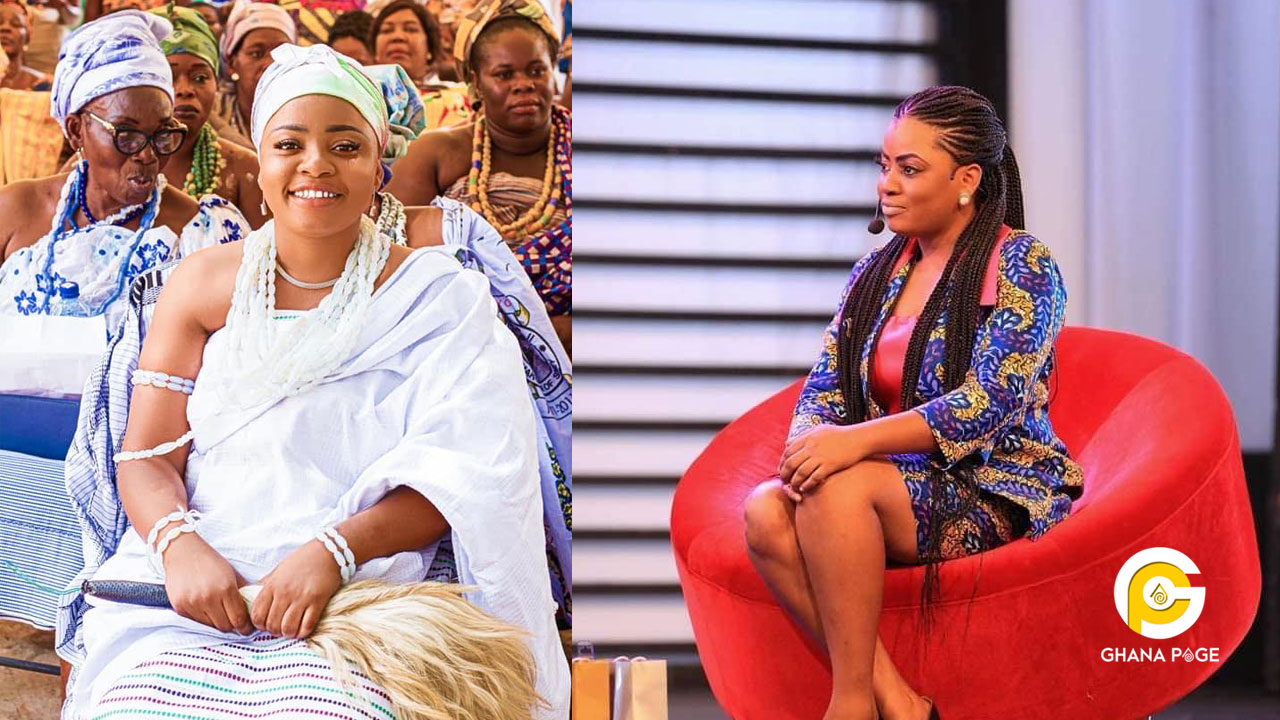 Video of when Enam allegedly collapsed and was rushed to the hospital after Ekua was declared the winner of GMB 2019 pops up