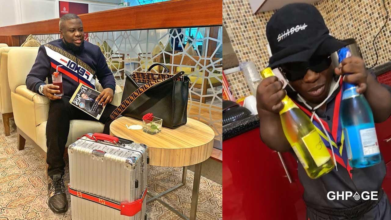 Nigerian 'big boy' Hushpuppi shops for Shatta Bandle
