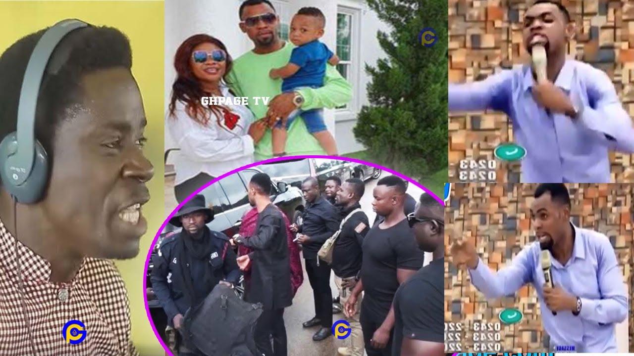 Rev Obofour explains why he has bodyguards; replies Evangelist Akwasi Awuah