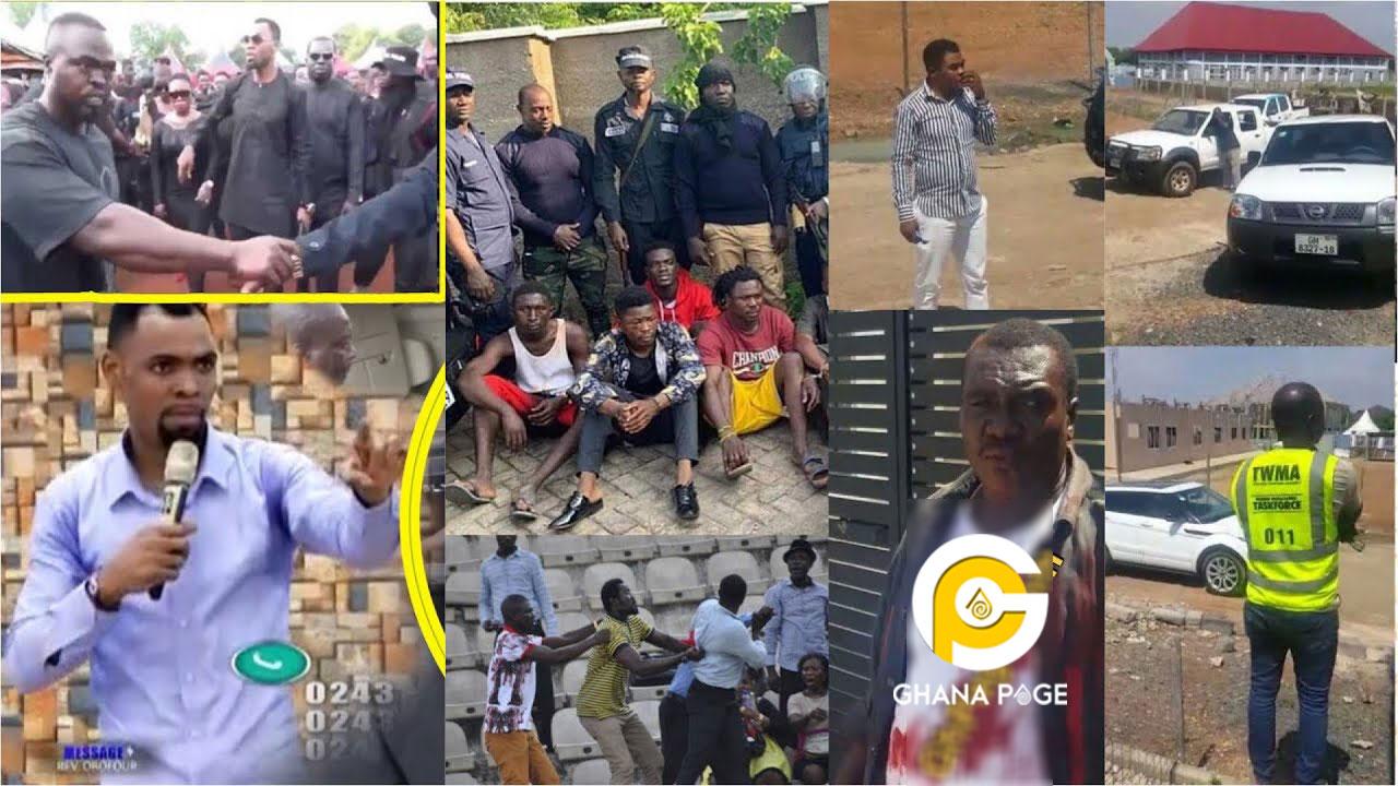 Rev. Obofour's macho men and junior pastors beat Tema MCE'S workers