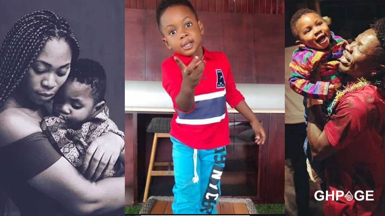 My son and I were in boxers when we fled Shatta Wale's house -Michy