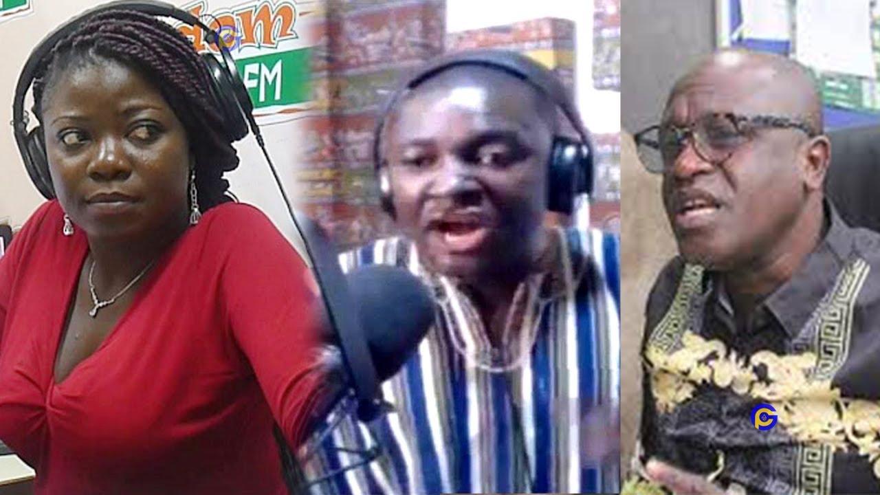 Mugabe Maase fires Vim Lady & Kwame Nkrumah Tikese for talking against NDC
