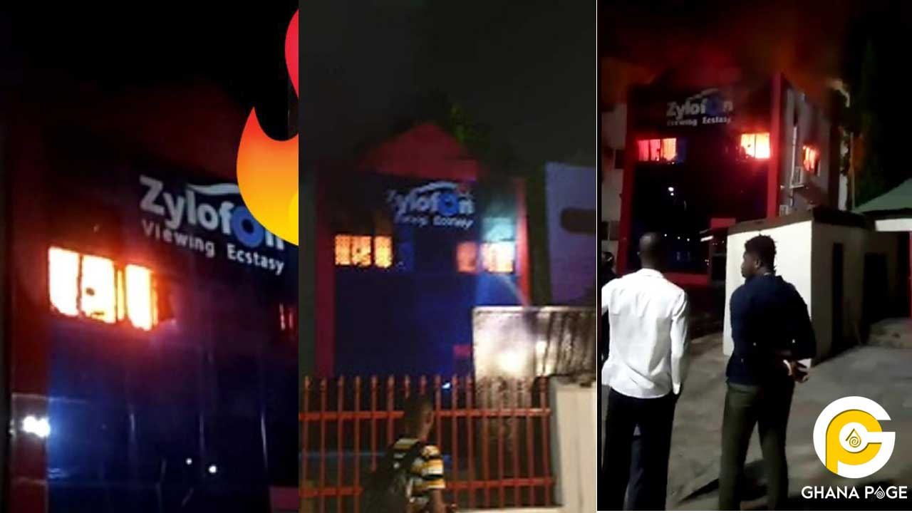 NAM 1's Zylofon TV and FM destroyed by fire