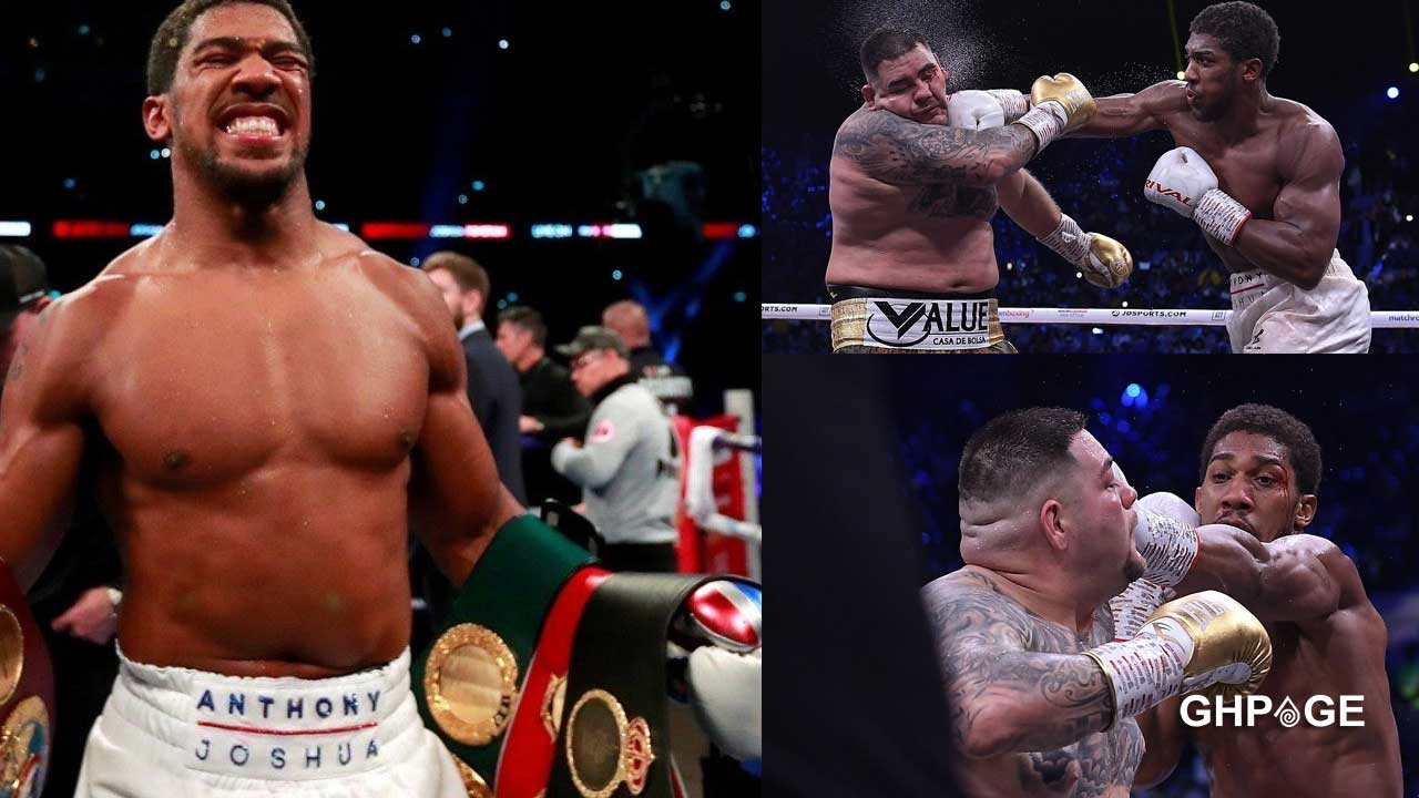 Anthony Joshua defeats Andy Ruiz to reclaim his World Heavyweight title