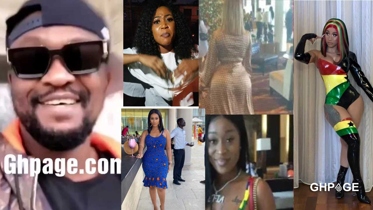Archipalago mocks Ghanaian celebs  who got snubbed by Cardi B (Video)