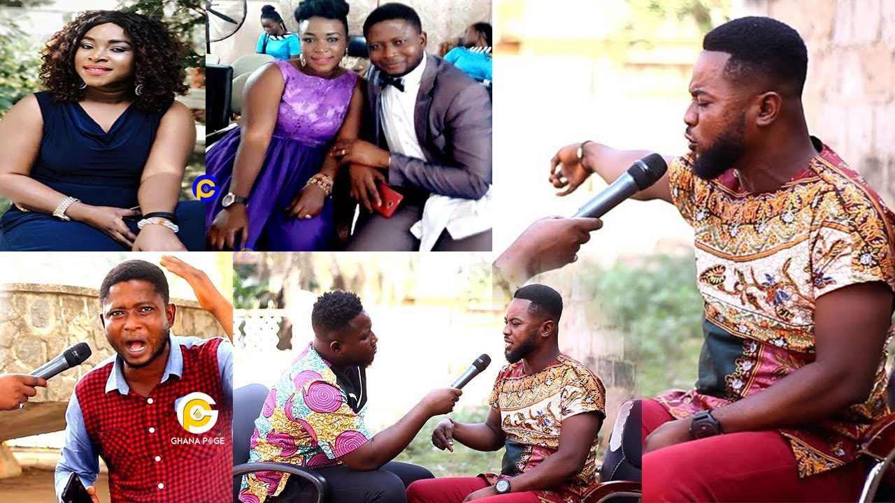 Gospel musician accused of snatching Joseph Mensah's wife tells his side of the  story