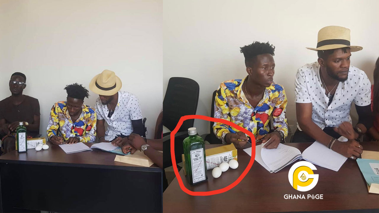 Ogidi Brown signs a new artist with Schnapps & eggs after Fameye's betrayal