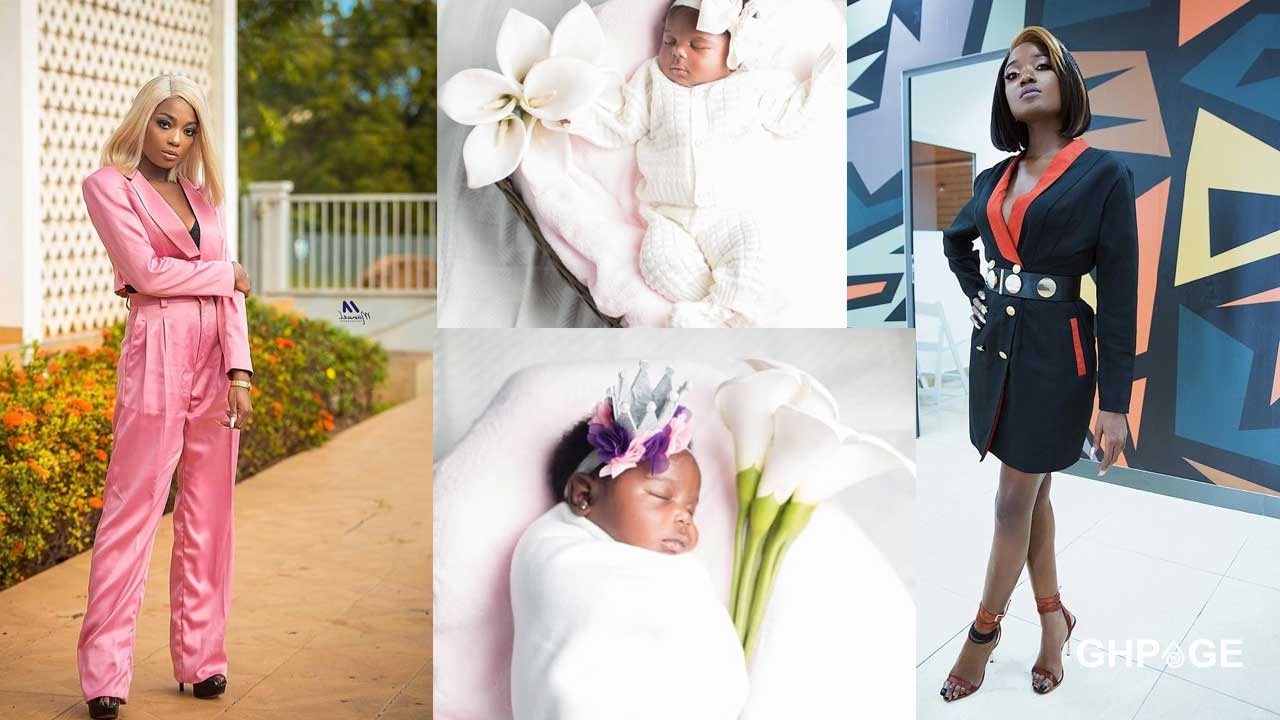 Efya reportedly gives birth to a baby girl
