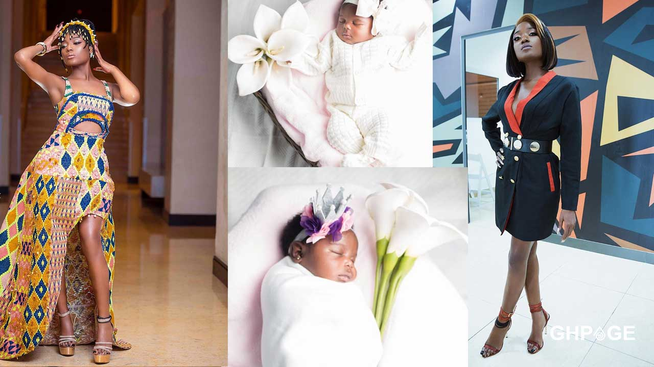 Efya reacts to news that she has given birth