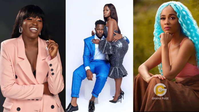 Fella Makafui reacts to the claims that she treated Sister Derby like 'dirty rag' at Medikal's concert