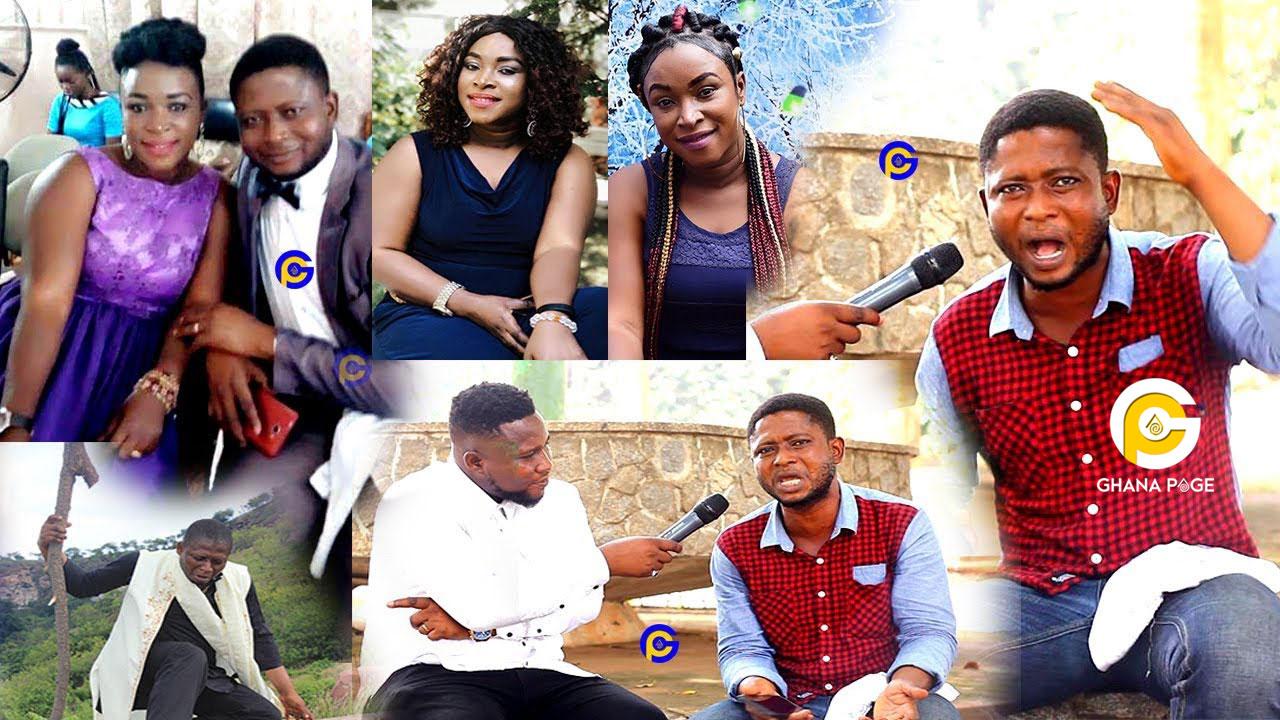 Gospel artist snatches the wife of another Ghanaian Gospel artist, Joseph Mensah