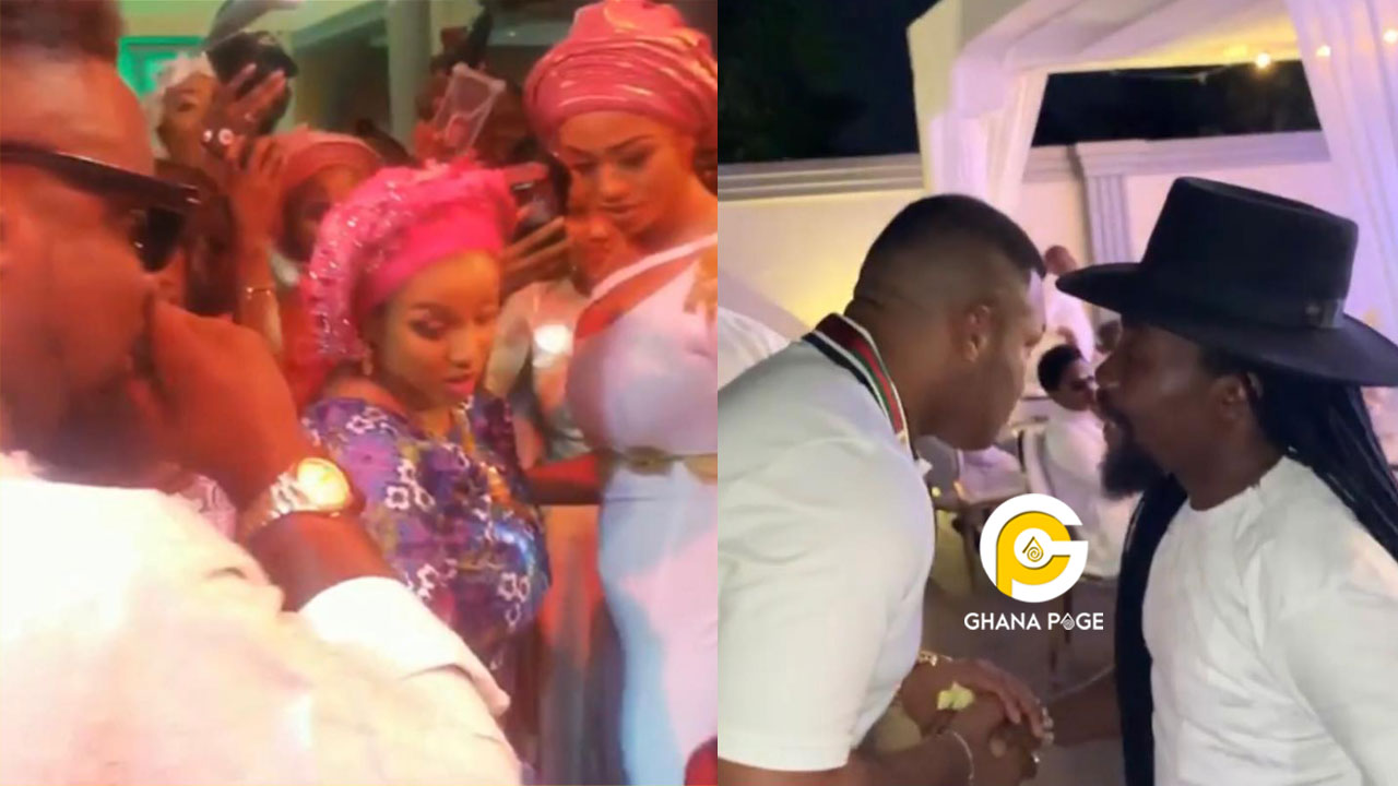 Sarkodie, Bisa Kdei, others magnetic performances at the naming ceremony of Kwadwo Safo's son