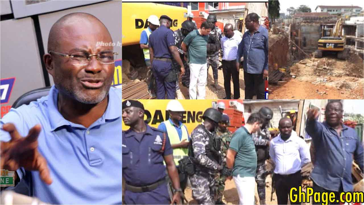 Kennedy Agyapong lauds Road Minister for arresting contractor & ordering the demolition of 22-storey building at Airport