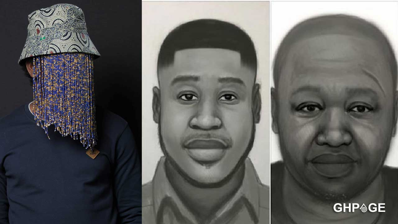 Artist's impression of Ahmed Suale's suspected murderers pops up
