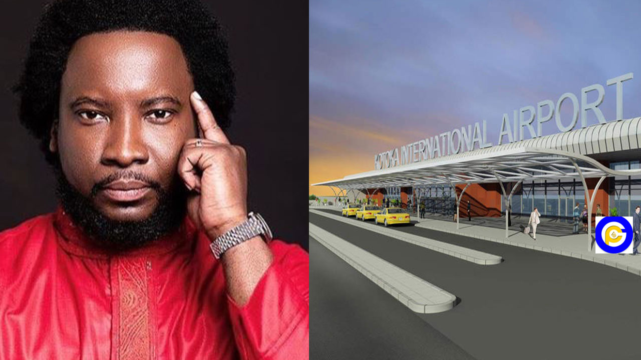 Change Kotoka airport to Kwame Nkrumah Airport or else Ghana will not know peace-Sonnie Badu warns