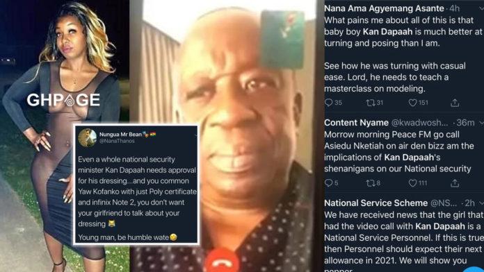Ghanaians reaction Kan Dapaah leak video