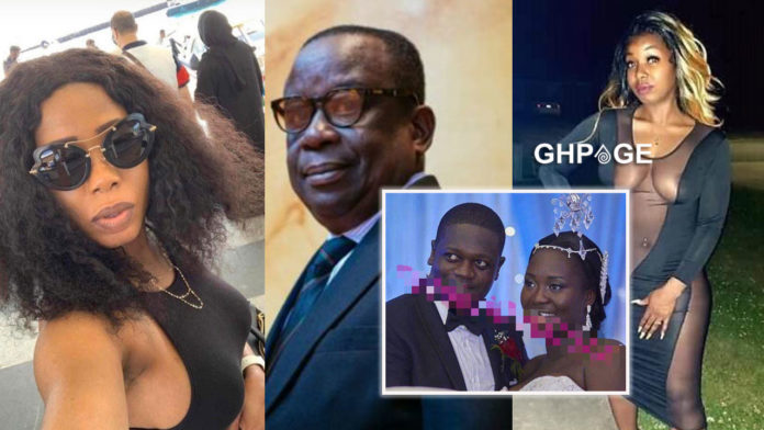 Fmr hubby of Chantelle Kujewu pops up- Reveals how she stole his money & fled the marriage