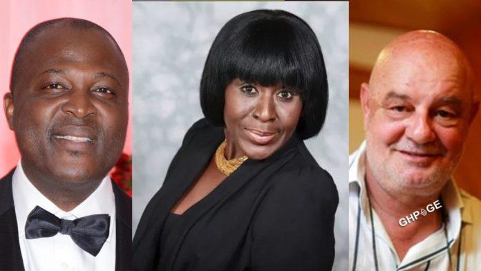 Ibrahim Mahama, Patricia Poku Diaby and Ernesto Taricone